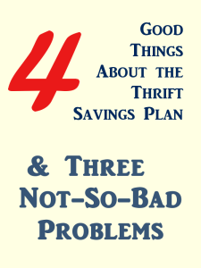 4 Good Things About the TSP